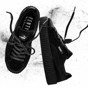FENTY Puma Velvet Black Creepers *seen on Rihanna*